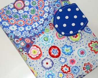Kindle Cover Nook Cover Paperwhite Cover Blue Millefiore eReader Nexus Cover all sizes