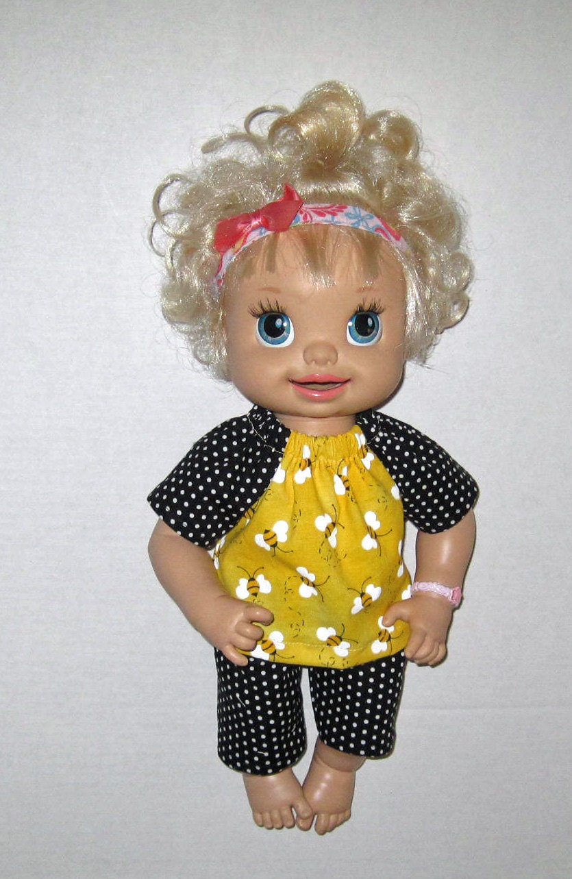 Super Snackin Sara Baby Alive Doll Clothes by Dakocreations