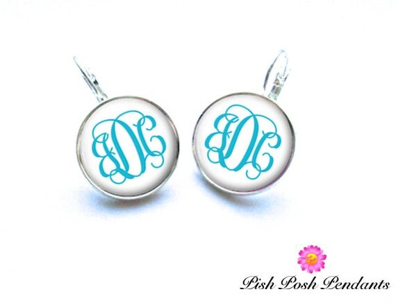Monogram Earrings (313)