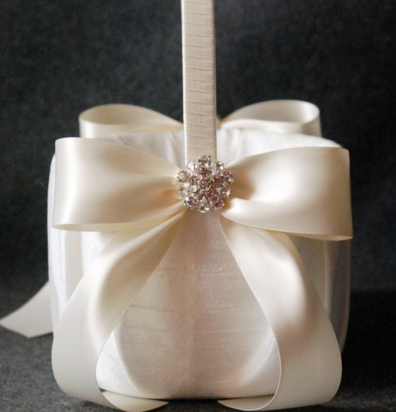 Flower Girl Baskets Ivory Uk : Unavailable listing on etsy