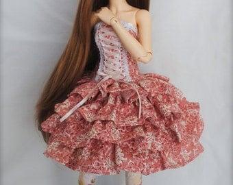 PATTERN - Minifee Corset Layers Dress