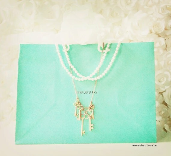 Tiffany Amp Co Large Signature Tiffany Blue Gift Bag By Ohsolovele