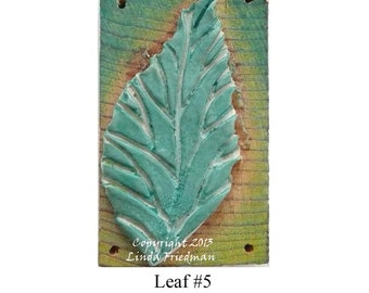 Stamp for Fabric - Leaf No. 5