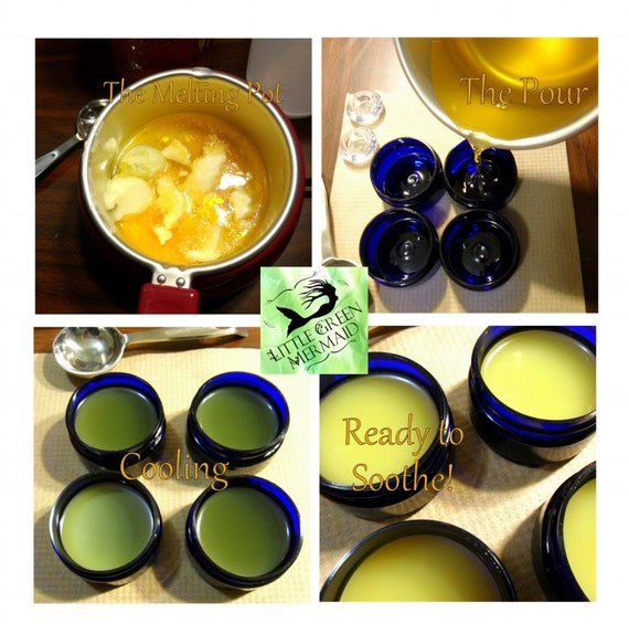 Calendula Salve 2 oz - mild with no essential oils - created for very sensitive skin types - all natural - vegan