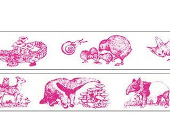 limited edition 2013- washi masking tape -artist collaboration YUKO HIGUCHI x HOLBEIN