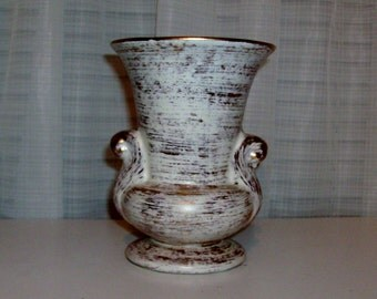 Gilded Ivory Urn-Style Vase