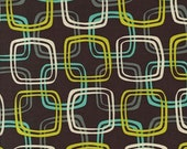 Michael Miller Mod Guys Don't be a Square in Bottle Fabric 1 yard