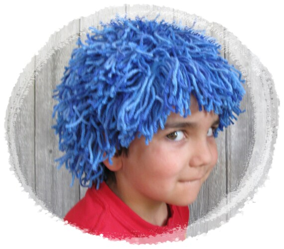 Yarn Halloween Wigs 37