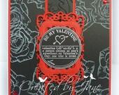Be my Valentine, handmade card