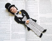 thread crochet bookmark bridegroom reserved for Susanna Liang