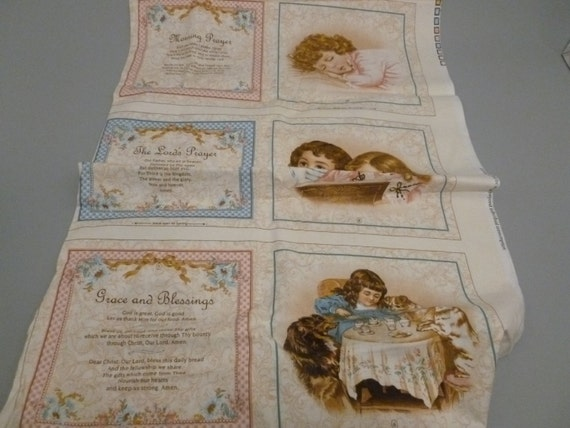 VIP Cranston Early Enchantments Print Fabric Book Panel