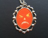 Creatures of the Night JACK II 21 x 30 mm Hand Painted Necklace