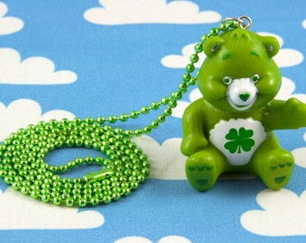 Care Bears Necklace Good Luck Bear