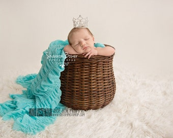 Hypoallergenic & Washable Newborn Photo Props, SuPeR SiZe White Faux Fur Newborn Baby Photography Props, Floor, Backdrop, White Clouds, Snow