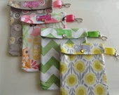 SUPERBOWL20 for 20% Off Any Purchase - Medium Ouch Pouch w/ Clip First Aid Organizer for Diaper Bag Car Purse (5x7 You Choose Fabric)