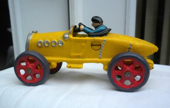 Vintage car toy replica