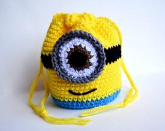 Yellow Minion Style Purse