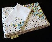 Gotcha In A Corner - Baby Blanket Swaddler and Burp Cloth
