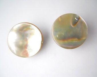 WEDDING MOTHER of PEARL clip-on earrings, bridal or wedding party, Japan