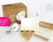 mt maki maki Masking Tape Dispenser Kit - with Limited Edition roll