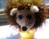 Crochet Hedgehog Coffee Cup Cozy