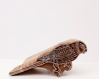 Sale Hand Carved Stamps Bird 205