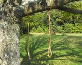 Rope tree swing limb saver hanging rope