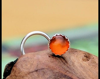 Amber Nose Stud 4mm - CUSTOMIZE