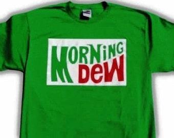 Grateful Dead Morning Dew Parking Lot Style T-Shirt