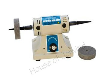 New Eurotool Benchtop Polisher with Variable Speeds with Polishing Wheels