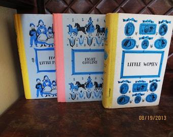 Book Set- Vintage  Louisa May Alcott and Margaret Sidney 3 Books