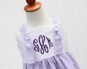 NEW...Ellie...Girls Dress, Monogrammed Dress