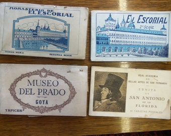 Vintage Spanish Art Post Cards For Your Mixed Media Artwork from Rustysecrets