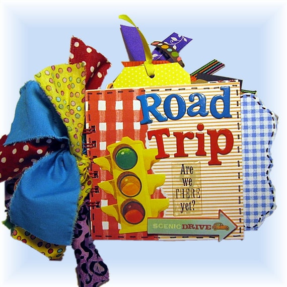 Mini Weekend Vacations: Vacation Scrapbook Family Road Trip Mini By