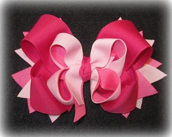 boutique hairbow girls hair bows pink hair bow polo anyone