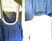 2XL Howard-Plus Size Clothes /Womens Dresses/Eco Dress / Tattered Artsy Dress / Upcycled Clothing by Unicycle Assembly
