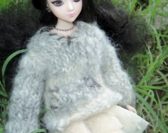 Knit Wool Pullover for Your Petite Dolls