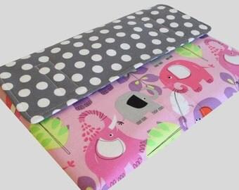 MacBook Air Sleeve, MacBook Air Case, MacBook Air 13 Inch Sleeve, MacBook Air 13 Case, MacBook Air Cover Polka Dot Elephants