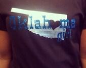 Oklahoma girl oklahoma shirt cowgirl hunting cowboys