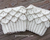 CROCHET PATTERN PDF Crocodile Tears Boot Cuffs - Instant Download - Adult sized - Women - Teen - Can sell items made from pattern