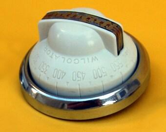 Vintage 40-50s Okeefe Merritt Gas Control Stove Oven Thermostat Knob WILCOLATOR