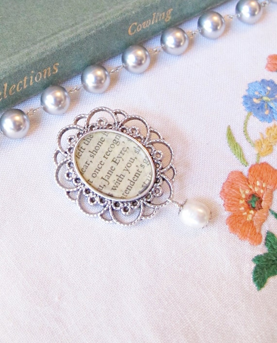 image jane eyre brooch bouquet pin freshwater pearl ivory silver two cheeky monkeys