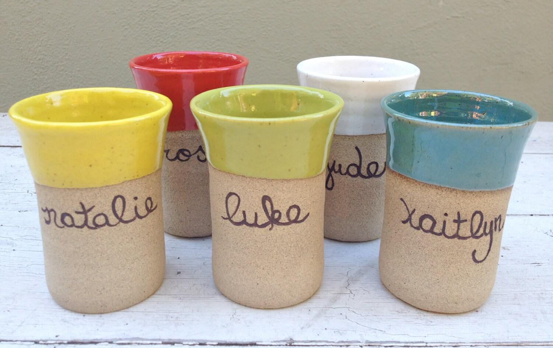 Handmade ceramic cup   Etsy
