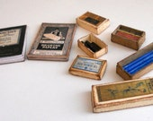 1/12 Scale Miniature Vintage Drawing Art Set