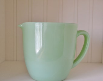 Fire King Jadeite Glass Pitcher/Jug