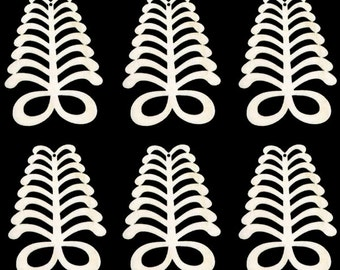 Africa Adinkra AYA symbol of endurance Natural Craft Wood Cutout 606