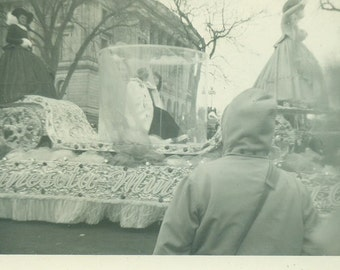 Minnesota Winter Parade Float 1949 Vintage Photo Black and White Photograph