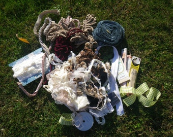 Lace destash, huge lot of upholstery trim, ribbons for crafts, scrapbooking, dress, hat making, haberdashery SALE