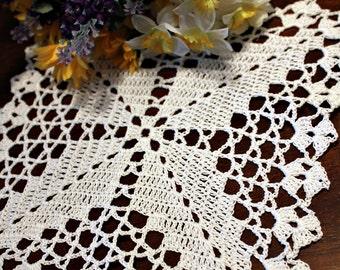 Crochet Mini Square Doily 3