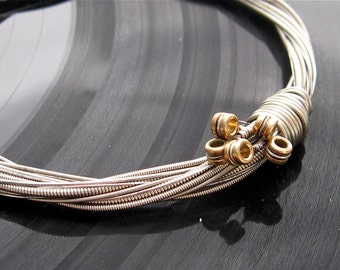 Custom Guitar String Bracelet that I will make out of guitar strings that you send me Unisex Unique Heirloom one of a kind